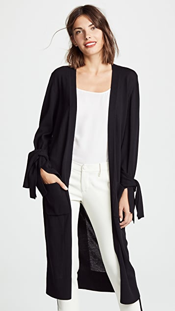 Brochu Walker Albian Tie Cardigan
