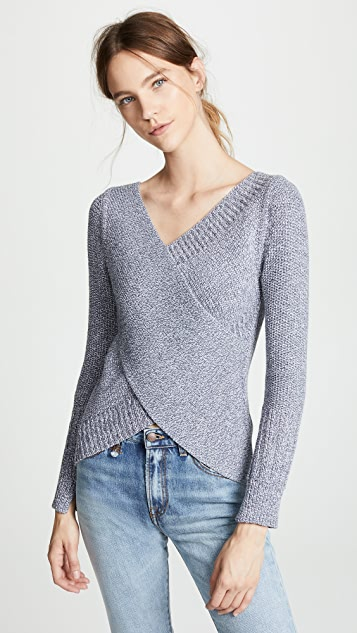 Brochu Walker Tessa Wrap Pullover