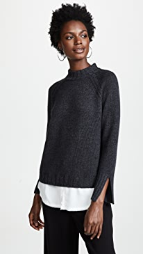 Strand Layered Pullover
