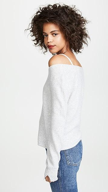 Brochu Walker Многослойный кашемировый свитер Mabel