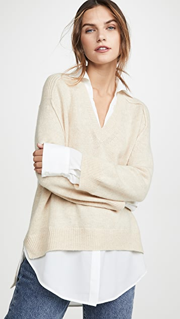 Layered Pullover by Brochu Walker