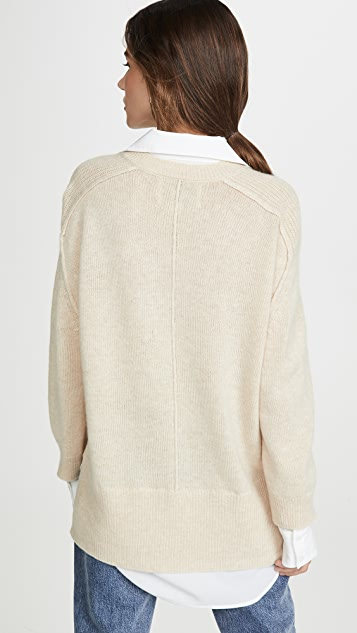 Brochu Walker Layered Pullover
