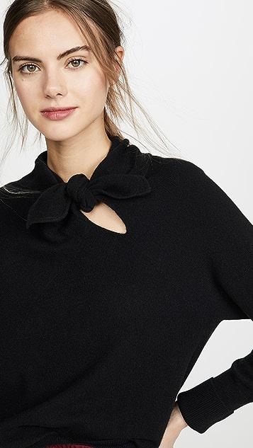 Brochu Walker Кашемировый пуловер с завязками Cleo