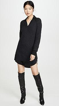 V Looker Dress
