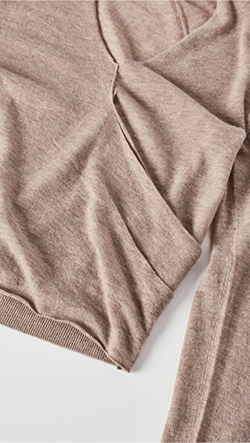 Brochu Walker Asta Cashmere Wrap Sweater