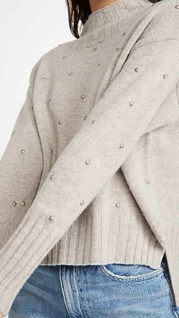 Brochu Walker Avery Embellished Sweater