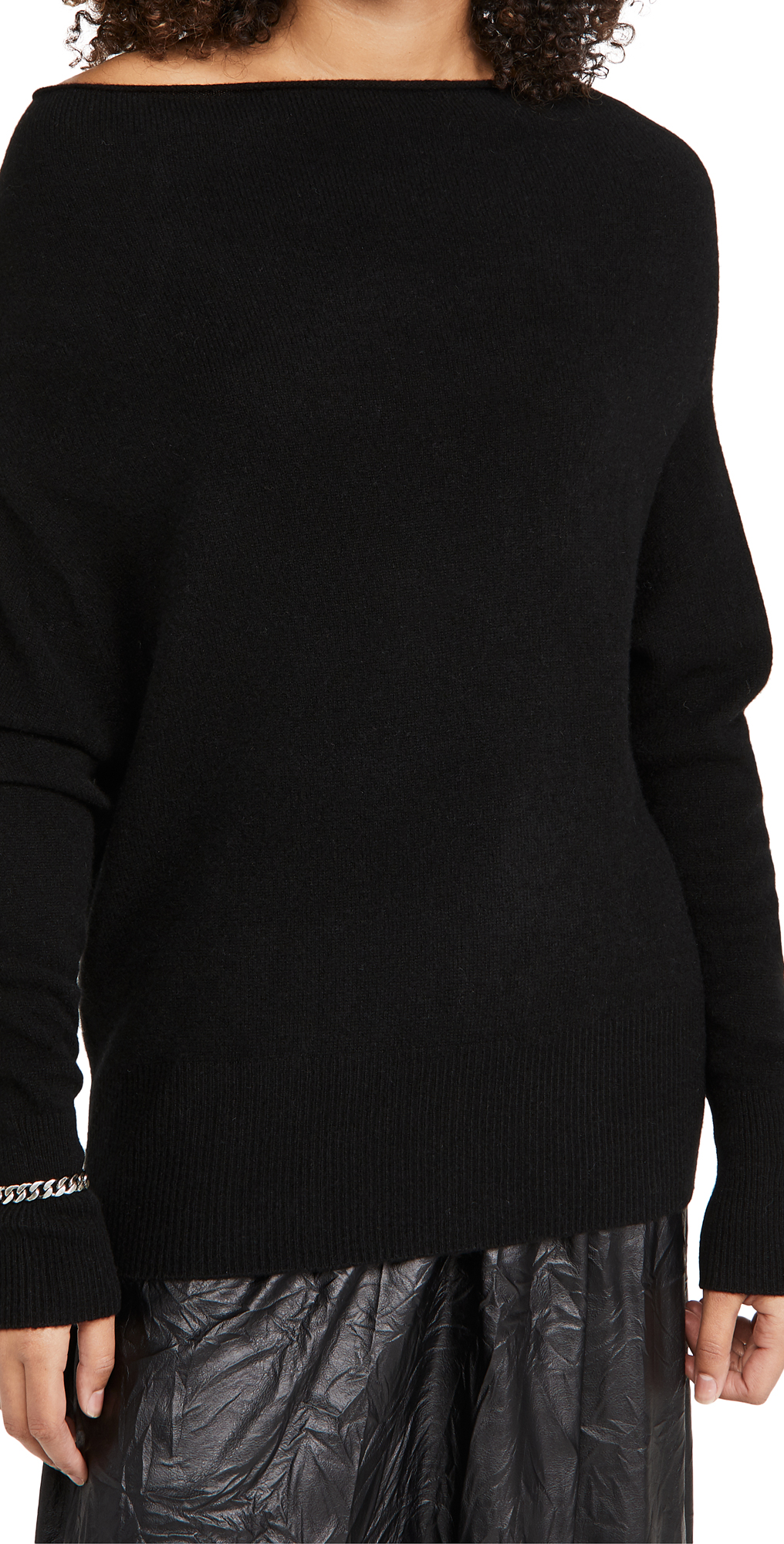 Brochu Walker Lori Off Shoulder Cashmere Sweater