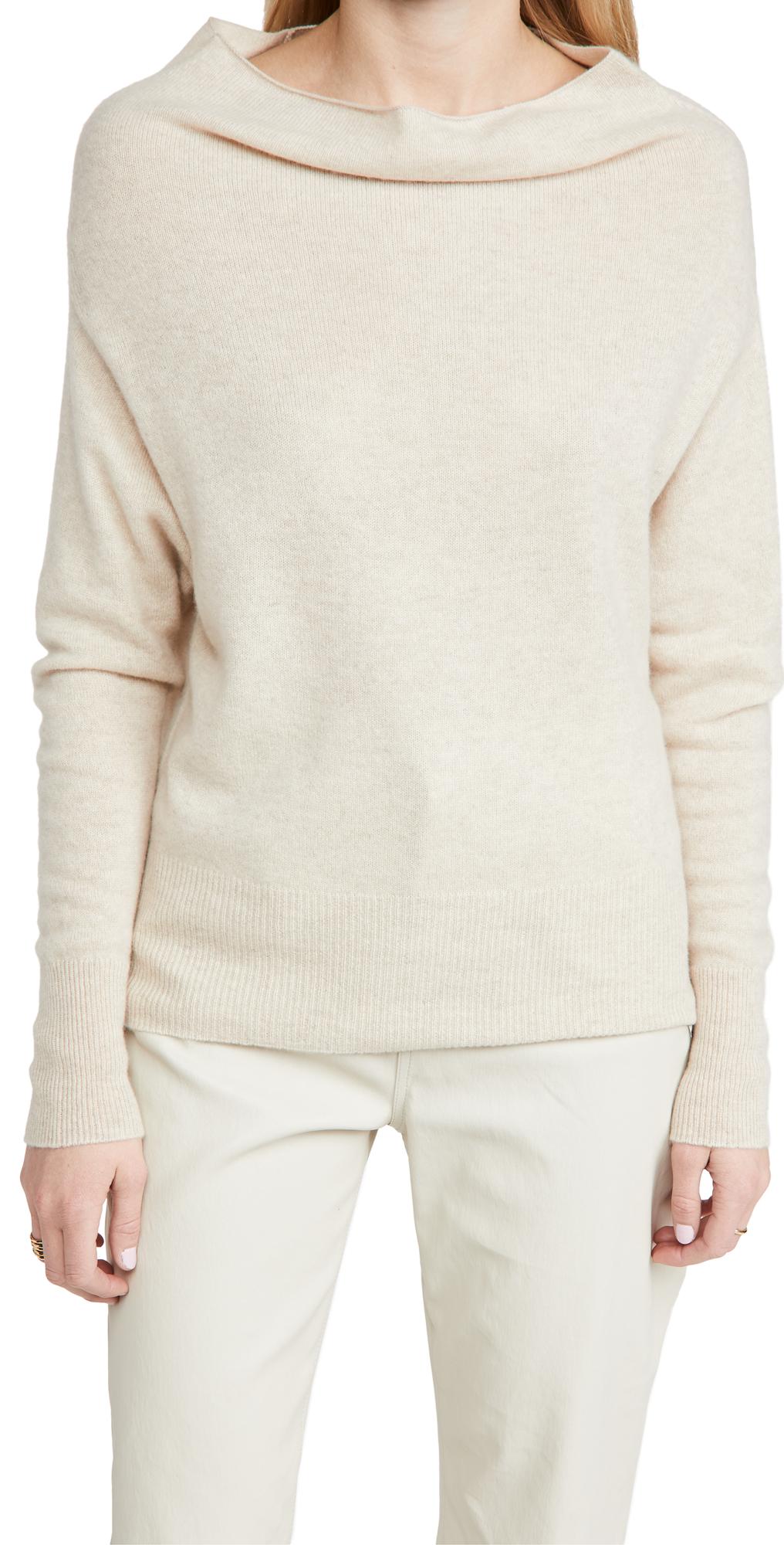 Lori Off Shoulder Cashmere Sweater