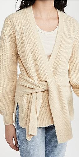 Brochu Walker - Hansen 系腰带开襟衫