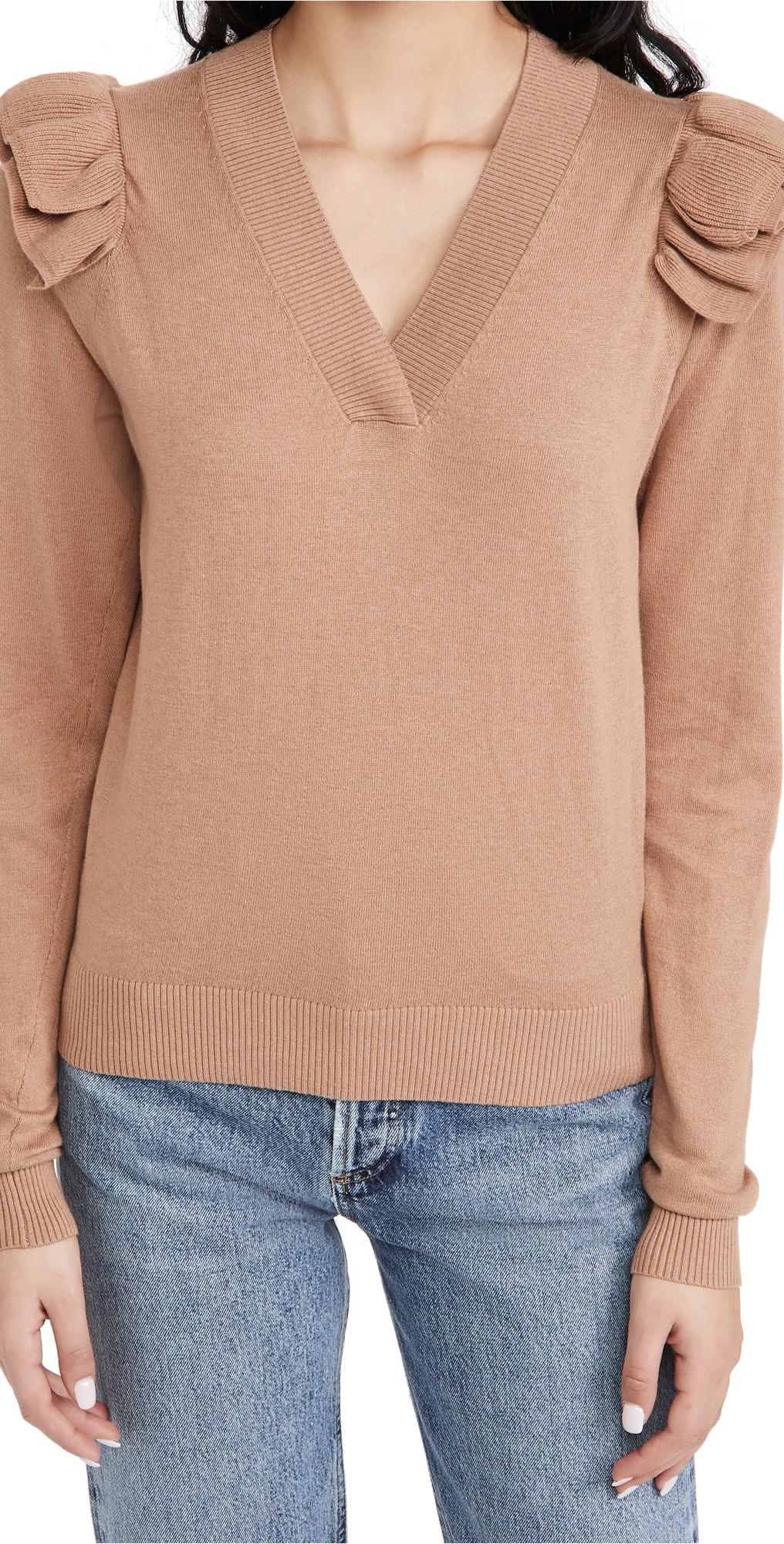 Brochu Walker Anaise Vee Sweater