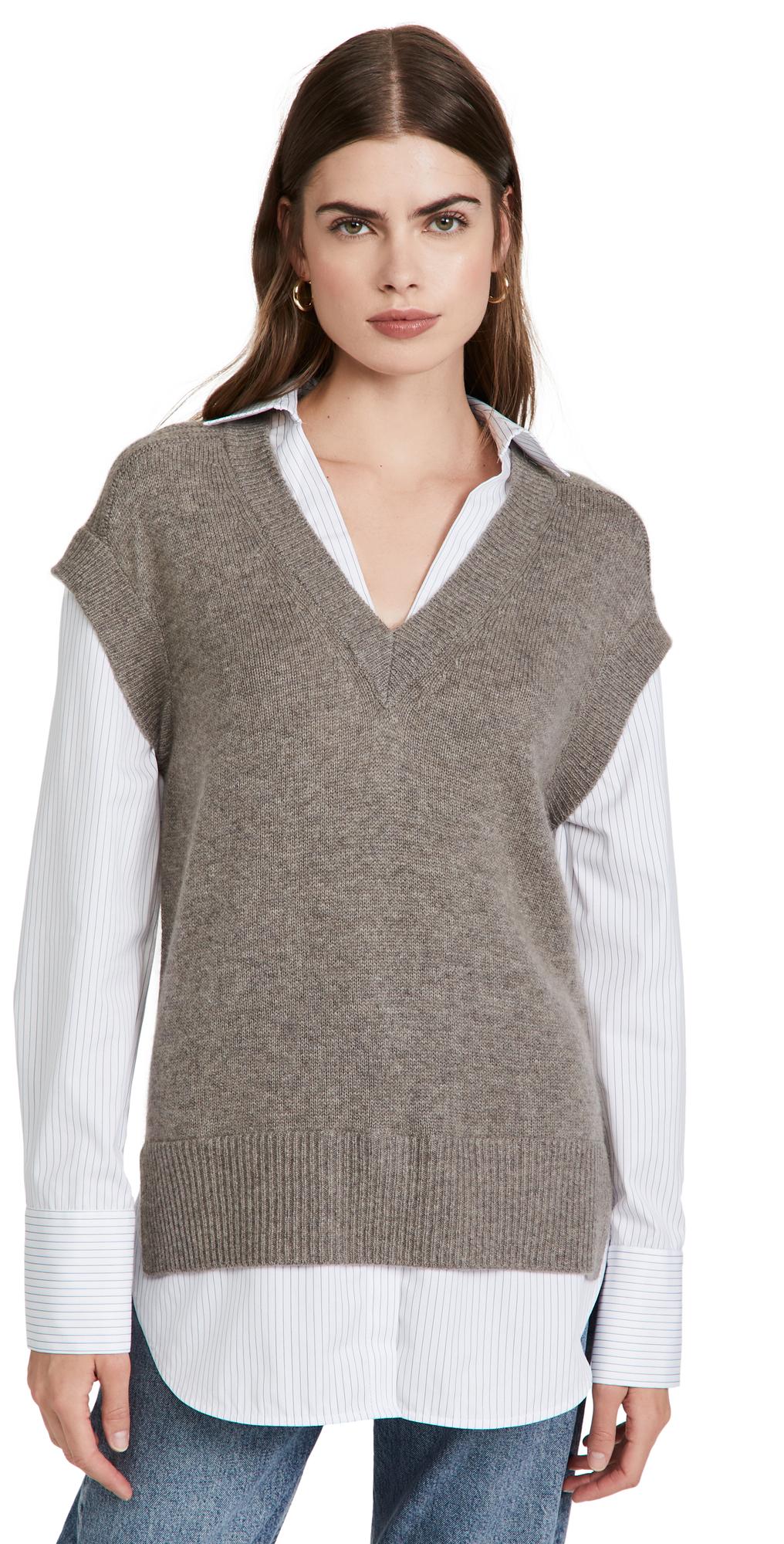 Nye Vest Layered Looker Shirt