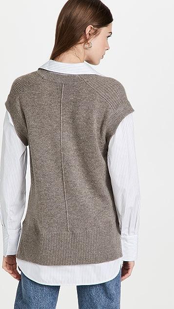 Brochu Walker Nye Vest Layered Looker Shirt