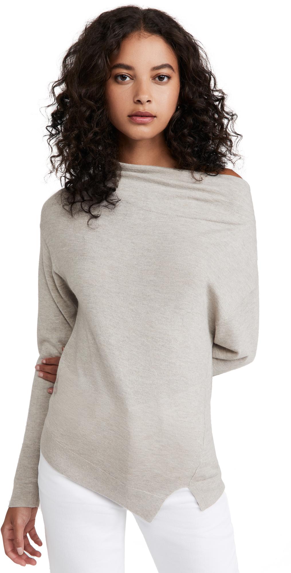 Nohr Long Sleeve Off Shoulder Sweater