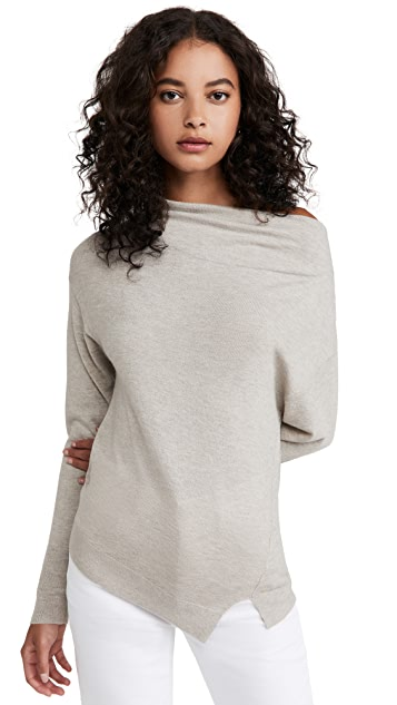 Brochu Walker Nohr Long Sleeve Off Shoulder Sweater