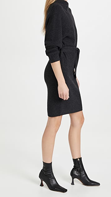 Brochu Walker Leith Belted Dress