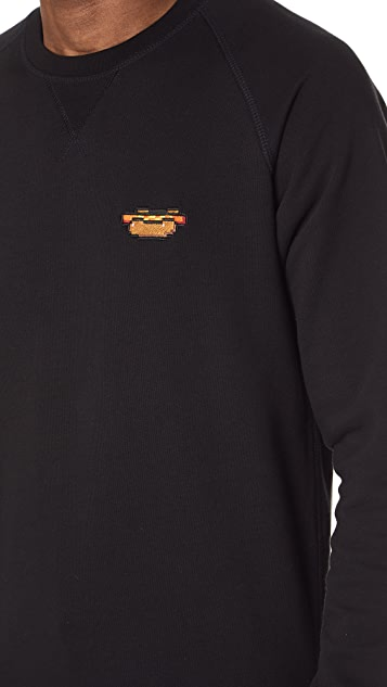 Bricktown Hot Dog Crew Neck Sweatshirt