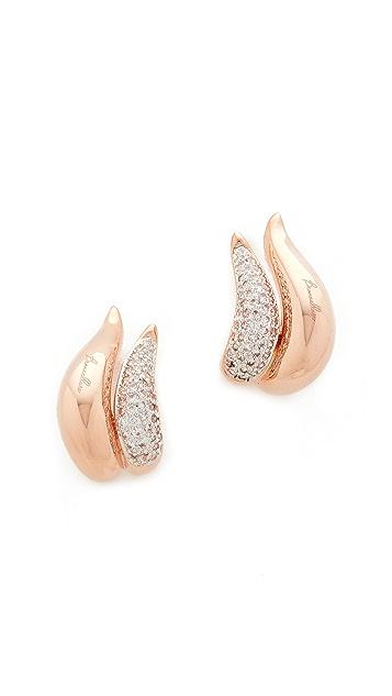 Bronzallure Altissima Flame Earrings