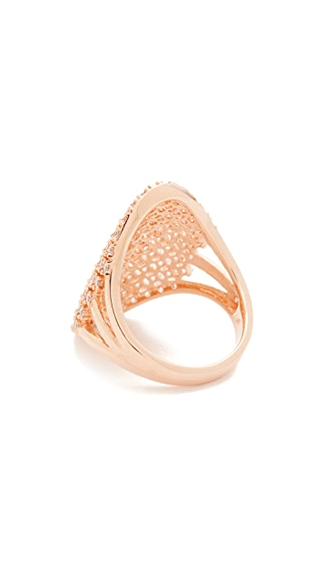 Bronzallure Altissima Leaf Ring