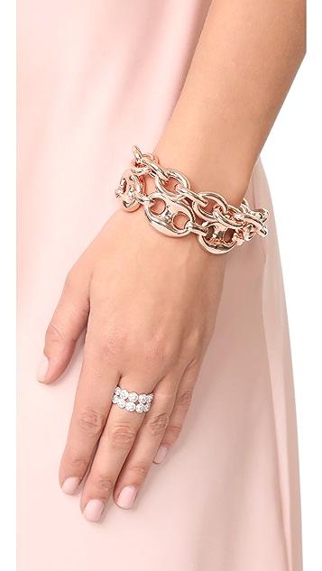 Bronzallure Victoria Magnetic Rolo Link Bracelet