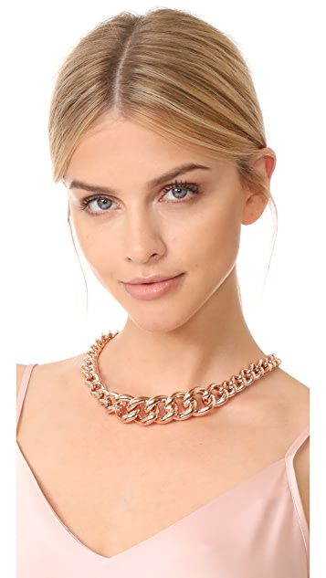 Bronzallure Victoria Graduated Curb Necklace