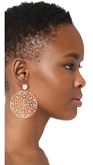 Bronzallure Rokoko Arabesque Earrings