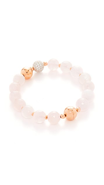 Bronzallure Variegata Shiny Bead Bracelet