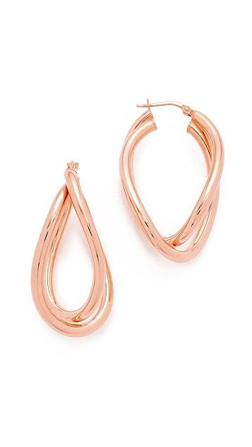 Bronzallure Purezza Hoop Earrings