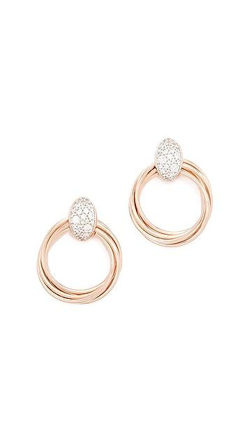 Bronzallure Altissima Circle Earrings