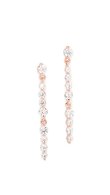 Bronzallure Altissima Linear Drop Earrings