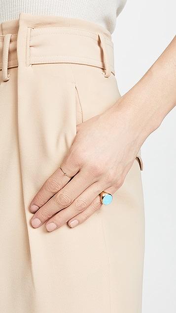 Bronzallure Magnesite Pinky Ring