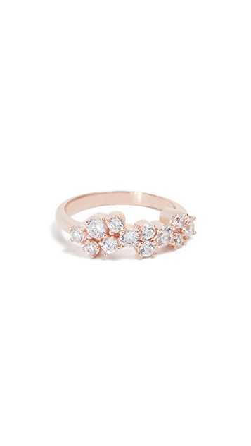 Bronzallure Cluster Stacking Band Ring