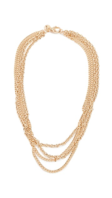 Bronzallure Bold Multistrand Statement Necklace
