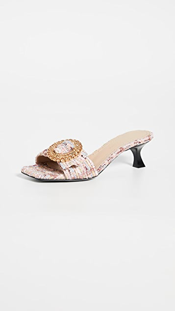 Brock Collection Boucle Metallic Slides