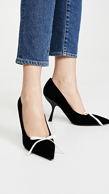 Brock Collection Velvet Pumps