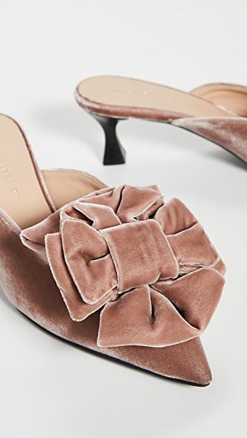 Brock Collection Bow Mules