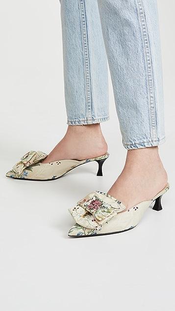 Brock Collection 蝴蝶结穆勒鞋