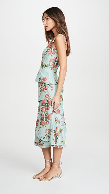 Brock Collection Fantasy Chiné Dress