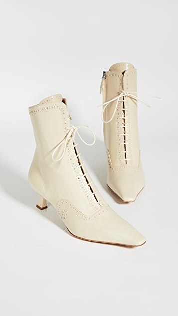 Brock Collection Lace Up Booties