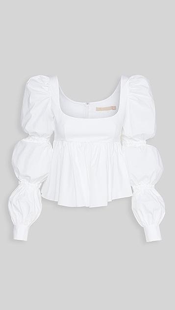 Brock Collection Ladies 梭织布衬衫