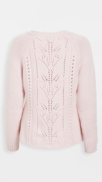 Brock Collection Ladies Rosmarino 开司米羊绒针织衫