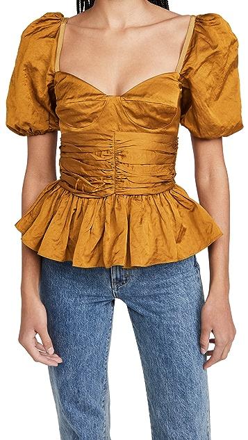 Brock Collection Ladies Woven Shirt Reserve 梭织衬衫