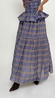 Brock Collection Ladies Woven Skirt Roulette
