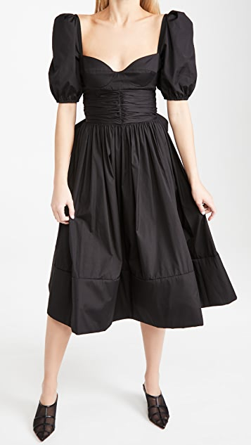 Brock Collection Ladies Woven Rosette Dress