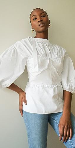 Brock Collection - 基本款女式梭织衬衣