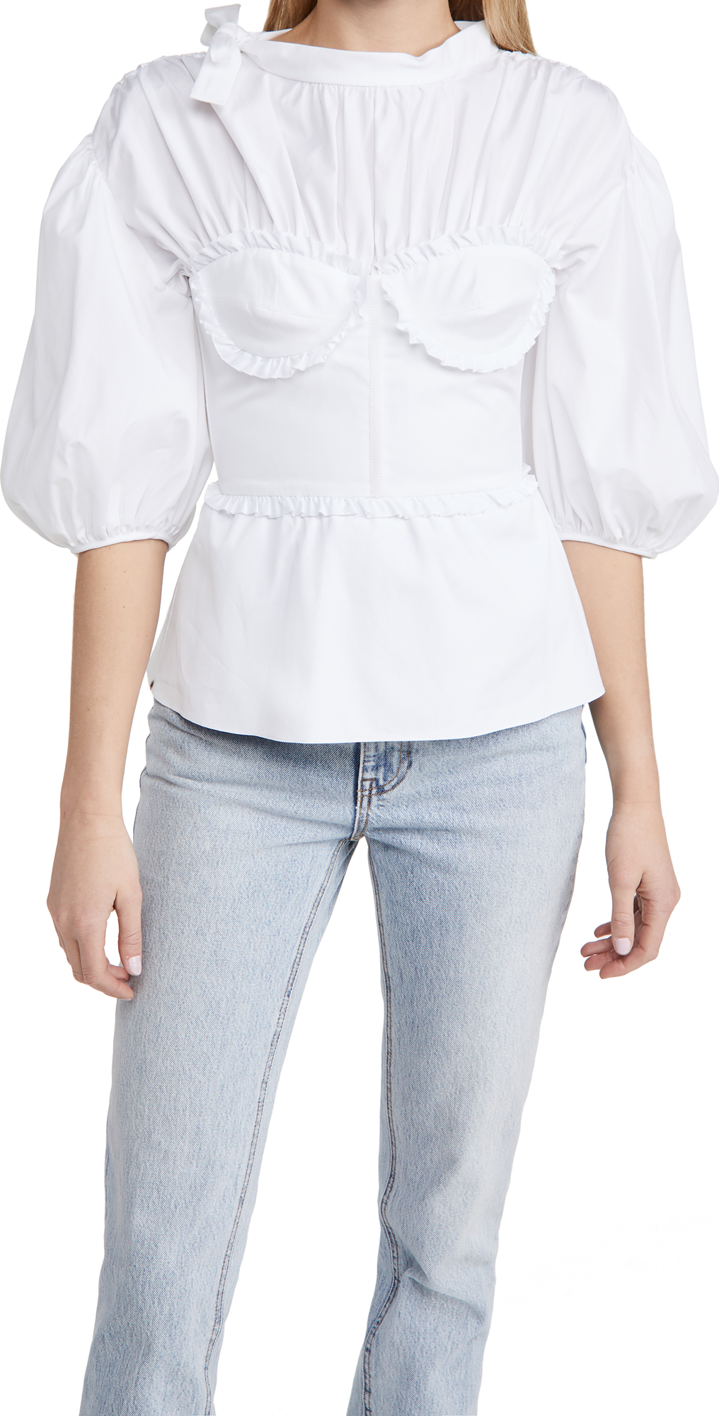 Brock Collection Ladies Woven Shirt Required