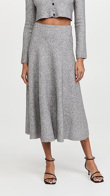 Brock Collection Tillie Wool Skirt
