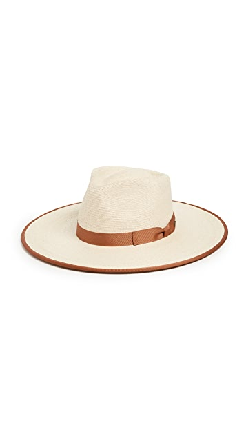 Brixton Joanna Straw Rancher Hat