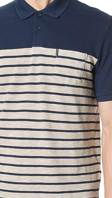 Ben Sherman Striped Polo