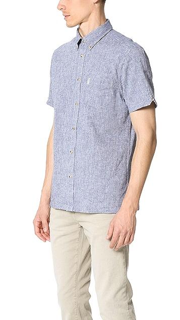 Ben Sherman Linen Short Sleeve Shirt