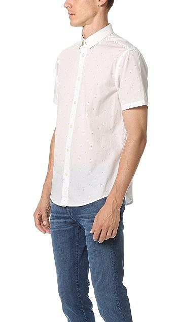 Ben Sherman Printed Short Sleeve Shirt